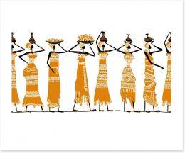 African Art Art Print 53182871