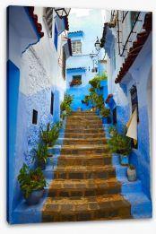 Village Stretched Canvas 53436921