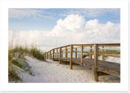 Beaches Art Print 53525706