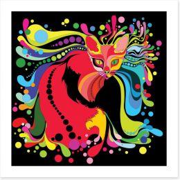 Retro Art Print 54012946