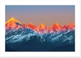 Mountains Art Print 54043068
