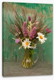 Wildflowers in a jug