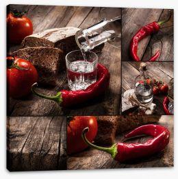 Hot chilli collage