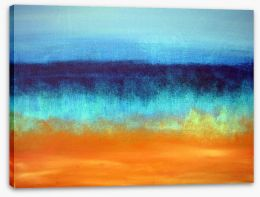 Seascape abstract Stretched Canvas 5470009