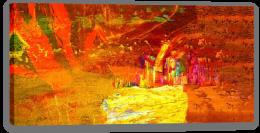 Molten summer Stretched Canvas 55090569