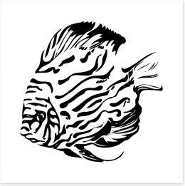 Black and White Art Print 55245582