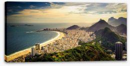 Copacabana Beach Stretched Canvas 55441051