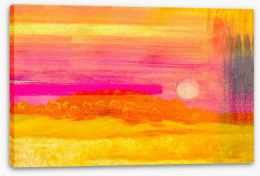 Heat of the sun Stretched Canvas 55447050
