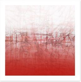 Red crush Art Print 55471415