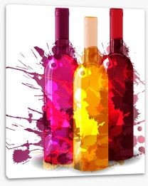 A splash of wine Stretched Canvas 55813287