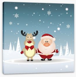 Christmas Stretched Canvas 56426898