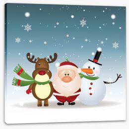 Christmas Stretched Canvas 56426967