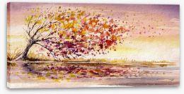 Autumn breeze Stretched Canvas 56590291