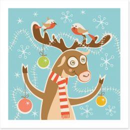 Reindeer festivities