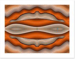 Aboriginal Art Art Print 57745307