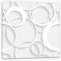 Lattice rings Stretched Canvas 57901961
