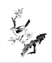 Black and White Art Print 58478915