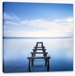Jetty Stretched Canvas 58501318