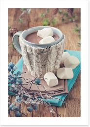Hug in a mug Art Print 58717109