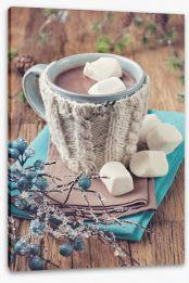 Hug in a mug Stretched Canvas 58717109