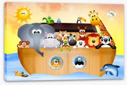 All aboard Noah's ark Stretched Canvas 59219598