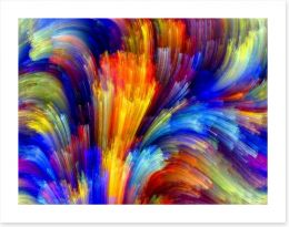 Movement of colour