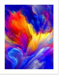 Advance of colour Art Print 59967369