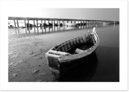 Boat by the jetty