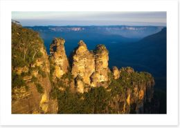The Three Sisters afternoon glow Art Print 60378568
