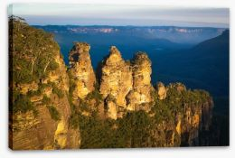 The Three Sisters afternoon glow Stretched Canvas 60378568