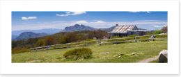Craig's Hut panorama Art Print 60426701