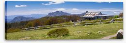 Craig's Hut panorama Stretched Canvas 60426701