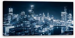 Melbourne City Stretched Canvas 60555783