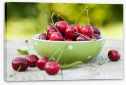 Summer cherries Stretched Canvas 60749867