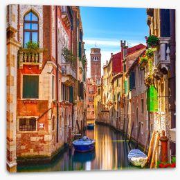 Venice cityscape Stretched Canvas 60887753