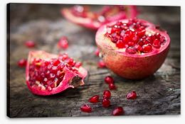 Pomegranate delight Stretched Canvas 61040220