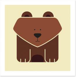 Cube bear
