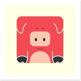 Cube pig
