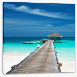 Perfect escape Stretched Canvas 61198339