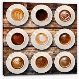 Espresso Stretched Canvas 61202089