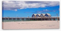 Beautiful Busselton Jetty Stretched Canvas 61292167