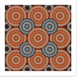 Aboriginal Art Art Print 61375650