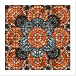 The desert sea Art Print 61375654