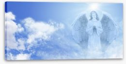 Guardian angel Stretched Canvas 61399540