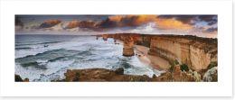 Apostles sunrise panorama Art Print 61526473