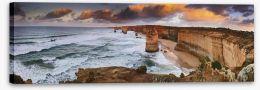 Apostles sunrise panorama Stretched Canvas 61526473