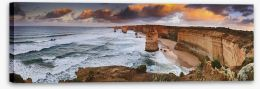 Apostles sunrise panorama Stretched Canvas 61526473