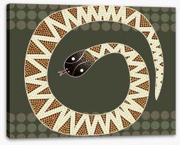 Aboriginal Art Stretched Canvas 61647695