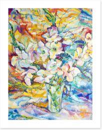 Gladiola dreaming Art Print 61995671