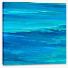 Deep blue ocean Stretched Canvas 62024362